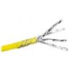 LEGRAND F/UTP Cat6A LCS fali kábel, sárga, 500m