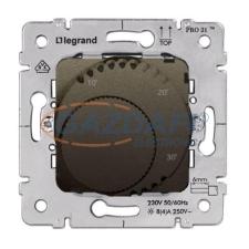 LEGRAND Galea Life standard szobatermosztát mechanizmus, mélybronz villanyszerelés
