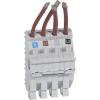 LEGRAND Hx3 Vezetékezhető Foglalat Dx3/Dx 4P 1,5 Mod/Pólus Széles Készülékhez 404515-Legrand