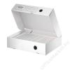 Leitz Archiváló doboz, A4, 80 mm, újrahasznosított karton, felfelé nyíló, LEITZ Infinity, fehér (E61000000)
