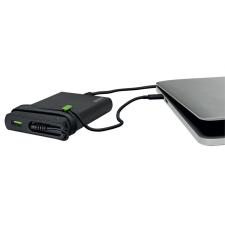 """Leitz Asztali töltő , univerzális, USB-C,  60W, LEITZ """"Complete"""" , fekete kábel és adapter"""