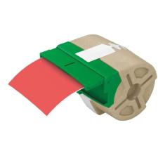 """Leitz Etikett, folyamatos, műanyag, öntapadó, 88 mm x 10 m, LEITZ """"Icon"""" piros etikett"""