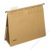 Leitz Függőmappa, gyorsfűzős, karton, A4, LEITZ Alpha kombi, natúr (E19830000)