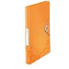 "Leitz Gumis mappa, 30 mm, PP, A4,  ""Wow Jumbo"", narancssárga"