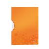 """Leitz Gyorsfűző, klipes, PP, A4,  """"Wow ColorClip"""" narancssárga"""