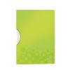 """Leitz Gyorsfűző, klipes, PP, A4,  """"Wow ColorClip"""" zöld"""