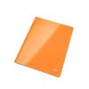 """Leitz Gyorsfűző, laminált karton, lakkfényű, A4, LEITZ """"Wow"""", narancssárga"""