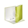 """Leitz Gyűrűs könyv, 2 gyűrű, D alakú, 40 mm, A4 Maxi, karton, lakkfényű, LEITZ """"Wow"""", zöld"""