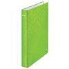 """Leitz Gyűrűs könyv, 2 gyűrű, D alakú, 40 mm, A4 Maxi, karton, LEITZ """"Wow"""", zöld"""