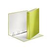 """Leitz Gyűrűs könyv, 4 gyűrű, D alakú, 40 mm, A4 Maxi, karton, lakkfényű,  """"Wow"""", zöld"""