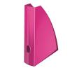 """Leitz Iratpapucs, műanyag, 60 mm, elöl nyitott, LEITZ """"Wow"""", metál rózsaszín"""
