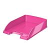 """Leitz Irattálca, műanyag, LEITZ """"Wow"""", metál rózsaszín"""