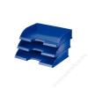 Leitz Irattálca, műanyag, oldalt nyitott, LEITZ Plus, kék (E52180035)