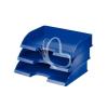 """Leitz Irattálca, műanyag, oldalt nyitott, LEITZ """"Plus"""", kék"""