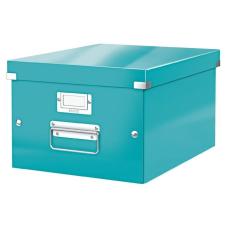 """Leitz Irattároló doboz, A4, LEITZ """"Click&Store"""", jégkék irattartó"""