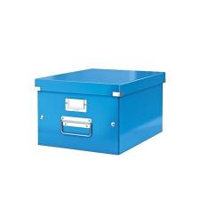 """Leitz Irattároló doboz, A4, LEITZ """"Click&Store"""", kék irattartó"""