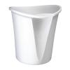 "Leitz Papírkosár, 18 liter,  ""Allura"", fehér"