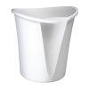 """Leitz Papírkosár, 18 liter, LEITZ """"Allura"""", fehér"""