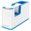 Leitz Ragasztószalag-adagoló, asztali, feltöltött, LEITZ Wow, kék (E53641036)