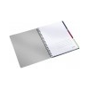 Leitz Spirálfüzet, A4, kockás, 80 lap, LEITZ Executive Active