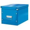 """Leitz Tároló doboz, lakkfényû, L méret, LEITZ """"Click&Store"""", kék"""