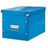 """Leitz Tároló doboz, lakkfényű, L méret, LEITZ """"Click&Store"""", kék"""