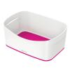 """Leitz Tároló doboz, LEITZ """"MyBox"""", fehér-rózsaszín"""