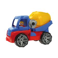 LENA Játék betonkeverő autó autópálya és játékautó