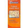 Lengyelország (délnyugati rész) térkép - Michelin 557