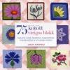 Lesley Stanfield 75 kötött virágos blokk