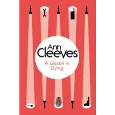 Lesson in Dying – Ann Cleeves idegen nyelvű könyv