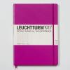 LEUCHTTURM Vonalas beíró /pink/ *slim - 225 x 315 mm