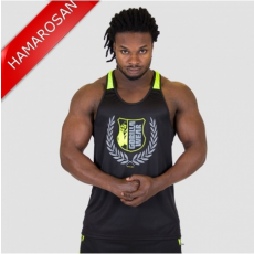 0eb2da3d32 LEXINGTON TANK TOP - BLACK/NEON LIME (BLACK/NEON LIME) [4XL