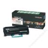 Lexmark 463H11G Lézertoner X46x nyomtatóhoz, LEXMARK fekete, 9k (TOLOX463S)