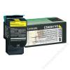 Lexmark 540H1YG Lézertoner C540, 543, 544 nyomtatókhoz, LEXMARK sárga, 2k (TOLOC540YH)