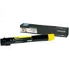 Lexmark [X950] X950X2YG [Y] 24K toner (eredeti, új)