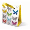 Leykam Alpina (BSB) BSB mini ajándéktasak (8x8x5 cm) színes pillangós (állvány)