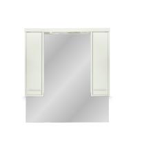 Leziter 105 cm-es Nerva, tükrös felsőszekrény, Sonoma tölgy bútor