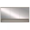 Leziter Luna 120 felső tükrös szekrény, Rauna szil