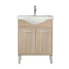 Leziter Nerva 65 cm-es bútorhoz alsószekrény, mosdóval, Sonoma tölgy