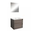 Leziter Porto Prime 60 komplett fürdőszoba bútor rauna szil színben