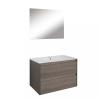 Leziter Porto Prime 80 komplett fürdőszoba bútor rauna szil színben