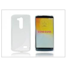 LG D290N L Fino szilikon hátlap - S-Line - transparent tok és táska