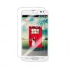 LG F60 D390, Kijelzővédő fólia, ütésálló fólia, Tempered Glass (edzett üveg), Clear Prémium