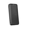 LG Forcell Elegance LG K20 (2019) oldalra nyíló mágneses könyv tok szilikon belsővel fekete