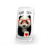 LG G3 Mini D722, UltravĂŠkony ColorDesign TPU, kĂĄvĂŠs panda minta, ĂĄtlĂĄtszĂł