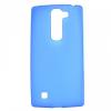 LG G4c H525N, TPU szilikon tok, fényes keret, kék