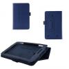 LG G Pad 7.0, bőrtok, mappa tok, kék