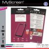 LG K3, Kijelzővédő fólia (az íves részre NEM hajlik rá!), MyScreen Protector, Clear Prémium