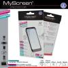 LG L70 D320, Kijelzővédő fólia, MyScreen Protector, Clear Prémium / Matt, ujjlenyomatmentes, 2 db / csomag